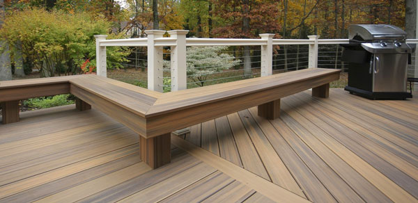 Fiberon Finest Horizon Decking In Castle Gray With